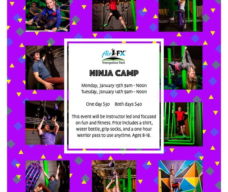 Ninja Camp – January 13-14, 2020