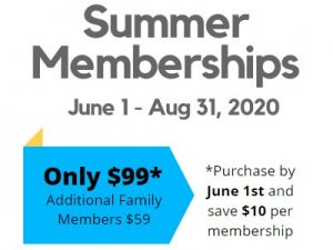 Summer Memberships now available!