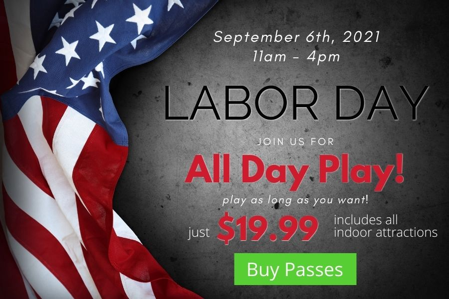 Labor Day – All Day Play!