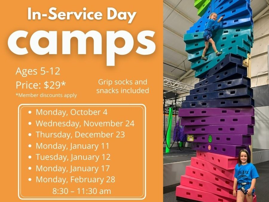 We have your in-service days covered.